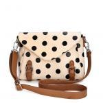 Retro cute Polka Dot Messenger Bag ..
