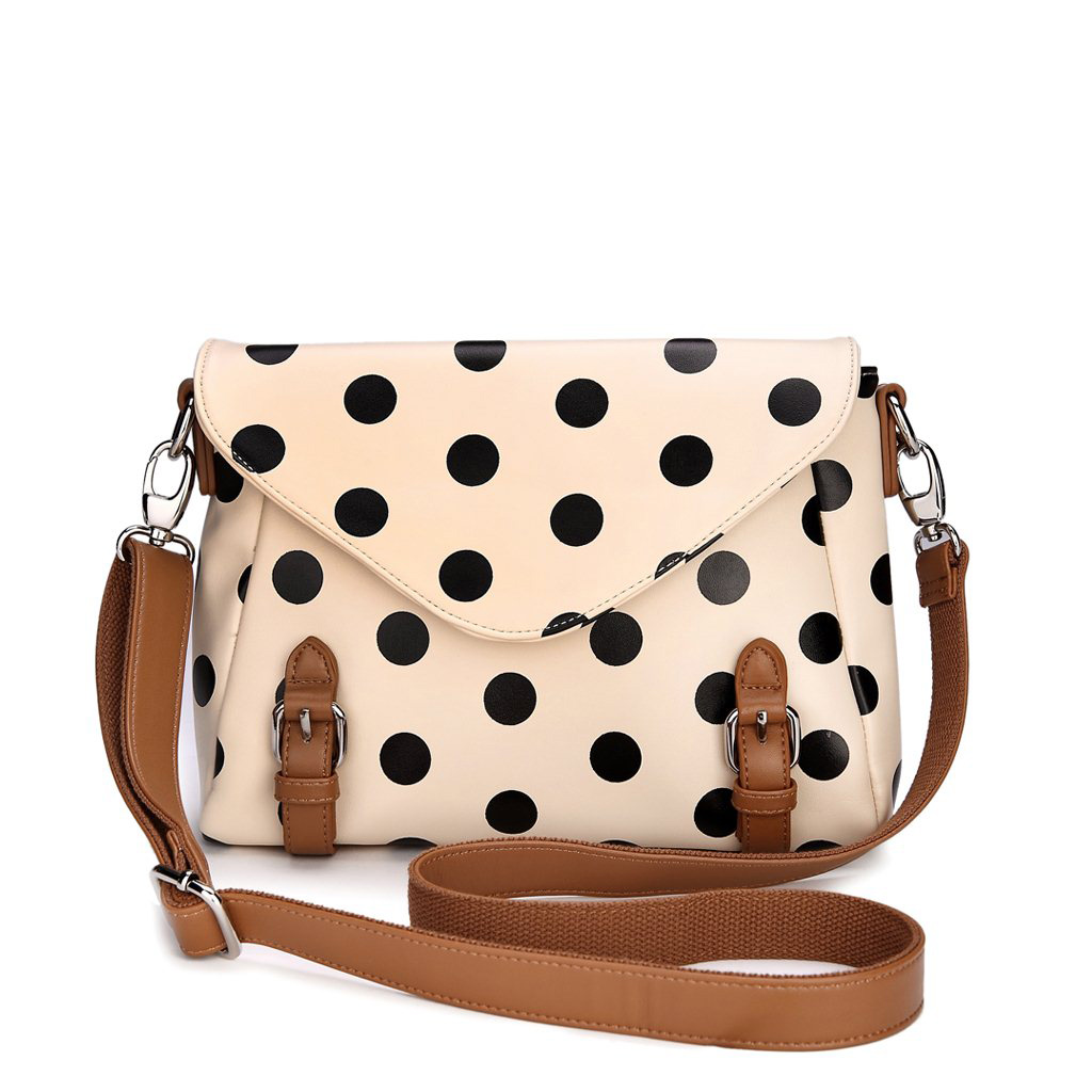 Retro Cute Polka Dot Messenger Bag Shoulder Grdx02180